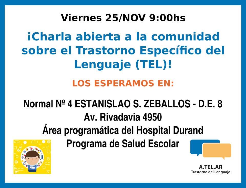 A.TEL.AR en Normal Nº 4 junto a Hospital Durand